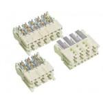 Connecteur mini coax 8 pts