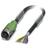 Câble SAC M12 8P Lg 10m