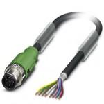 Câble SAC M12 8P blindé Lg1,5m
