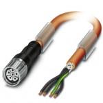 Connecteur M23- 5P+PE Femelle
