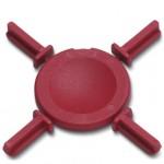 Etoile de détrompage rouge