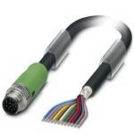 Câble M12 blindé 12P Lg 3m
