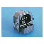 Fiche C14 10A 250V +fusible ref. PF0001/63 Elektron Technology