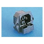 Fiche C14 10A 250V +fusible ref. PF0002/63 Elektron Technology