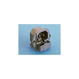 Fiche C18 10A 250V  ref. PF0007/63 Elektron Technology
