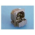 Fiche C14 10A 250V +fusible ref. PF0011/10/PC Elektron Technology