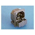 Fiche C14 10A 250V +fusible ref. PF0011/15/PC Elektron Technology