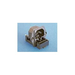 Fiche C14 10A 250V +fusible ref. PF0030/28 Elektron Technology