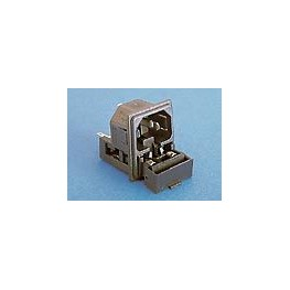 Fiche C14 10A 250V +2 fusibles ref. PF0033/20/63 Elektron Technology
