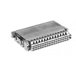 Capot D20/4 métallisé - 20mm ref. 09069480522 Harting