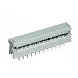 Connecteur câble plat 4 pts ref. 09181049622 Harting