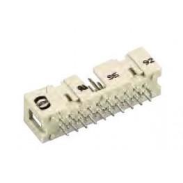 Connecteur mâle droit 14 pts ref. 09185146322 Harting