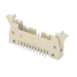 Connecteur mâle coudé 40 pts ref. 09185406911 Harting