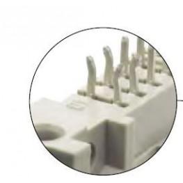 Connecteur mâle droit 40 pts ref. 09185407004 Harting