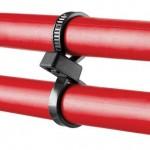 Collier serrage double boucle ref. PLB2S-C0 Panduit