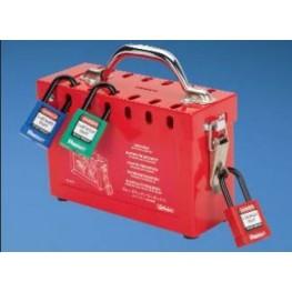 Boite en métal pour cadenas ref. PSL-GLBN Panduit