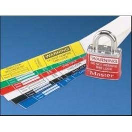 Etiquette autoprotégée rouge ref. PSL-PL1REDY Panduit