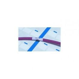 Etiquette autoprotégée blanche ref. PVF191762-5-9 TE Connectivity