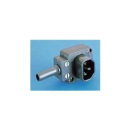 Connecteur mâle coudé BULGIN ref. PX0685 Elektron Technology