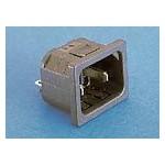 Fiche C18 noire 2 broches ref. PX0691/10/63 Elektron Technology