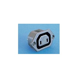 Prise 10A 250V 2 broches ref. PX0705/28 Elektron Technology