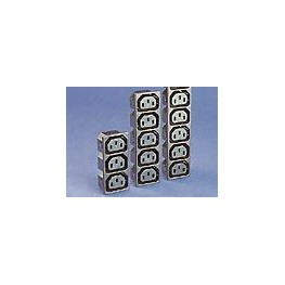 Prise 6 sorties 10A 250V ref. PX0717/6/15/ST Elektron Technology