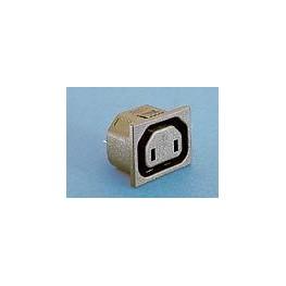 Prise 10A 250V 2 broches ref. PX0725/15/63 Elektron Technology