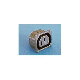 Prise avec obturateur 10A 250V ref. PX0783/10/63 Elektron Technology