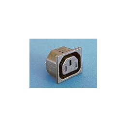 Prise avec obturateur 10A 250V ref. PX0783/15/28 Elektron Technology