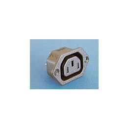 Prise avec obturateur 10A 250V ref. PX0793/63/WH Elektron Technology