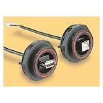 Connecteur USB hermétique ref. PX0849/B Elektron Technology