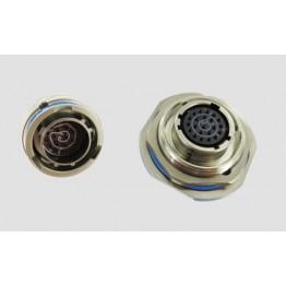 Fiche mâle 22 contacts ref. JT06RT1235AN014 Amphénol Socapex