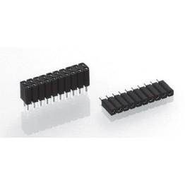 Connecteur femelle 64 points ref. 803-83-064-10-004101 Préci-Dip