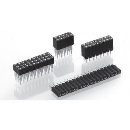 Connecteur femelle 64 points ref. 803-83-064-10-005101 Préci-Dip