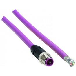 Connecteur mâle M12 avec câble ref. STL-1205-G15MQ Sick