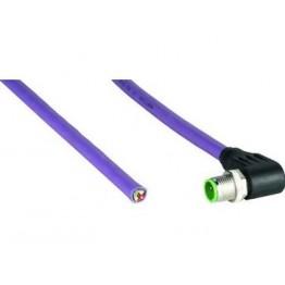 Câble confectionné avec M12 ref. STL-1205-W05MQ Sick