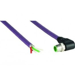 Câble confectionné avec M12 ref. STL-1205-W10MQ Sick