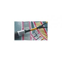 Manchon de repérage blanc ref. RPS-1K-1-400/2-0-9 TE Connectivity