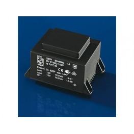 Transformateur EI66/40 50VA ref. BVEI6651128 Hahn