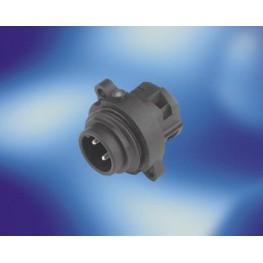 Embase mâle 3 contacts+Terre ref. C01620C00320012 Amphénol Tuchel electronics
