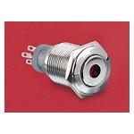 BP lumineux rouge diam 18mm ref. MP0045/1D1RD220 Elektron Technology