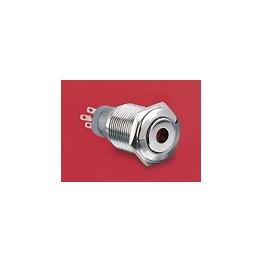 BP lumineux rouge diam 18mm ref. MP0045/1E1RD012 Elektron Technology