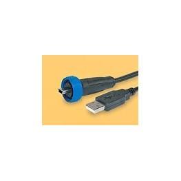 Câble mini USB étanche lg 2m ref. PX0441/2M00 Elektron Technology