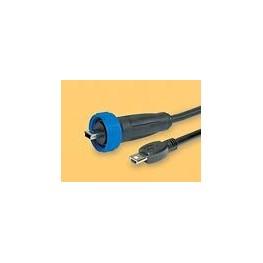 Câble mini USB étanche lg 2m