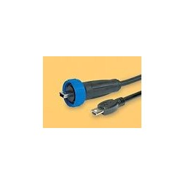 Câble mini USB étanche lg 3m