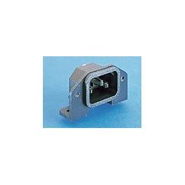 Fiche C14 10A 250V noire ref. PX0580/PC/12132 Elektron Technology