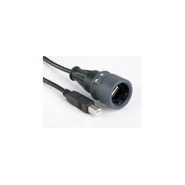 Câble USB étanche lg 2m ref. PXP6040/B/2M00 Elektron Technology