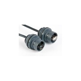 Connecteur étanche USB type B ref. PXP6043/B Elektron Technology