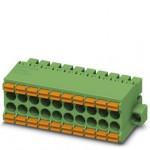 Connecteur mâle 2 rangées vert ref. 1790409 Phoenix