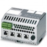 Switch Ethernet 4 ports RJ45 ref. 2700689 Phoenix